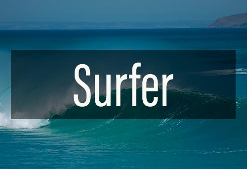 picture of a surfer voucher